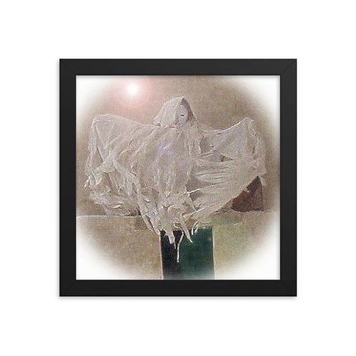 Spectral Angel Framed poster