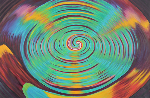 Lrg Multi Coloured Vortex