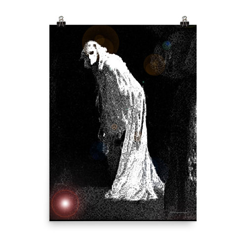 The Solitary Witch Ghost Poster