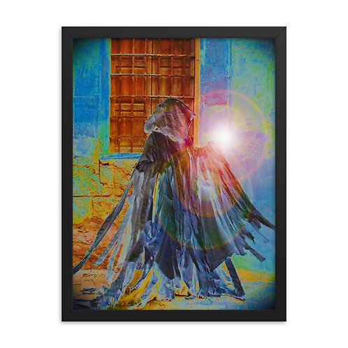 The Rainbow Light Bearer Framed poster