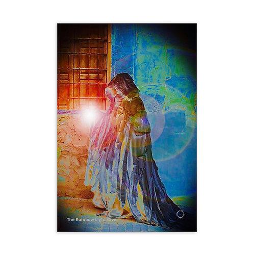 The Rainbow Light Giver Postcard
