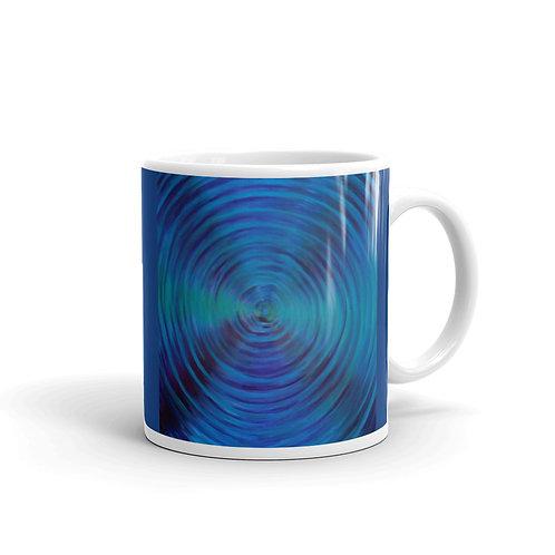 Pluto Vortex glossy mug