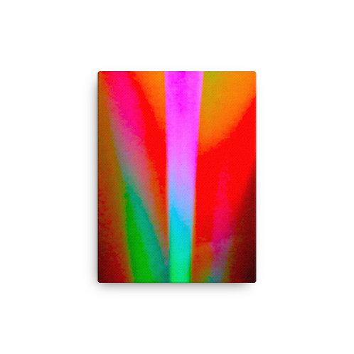 Bright Tulip Bulb Canvas