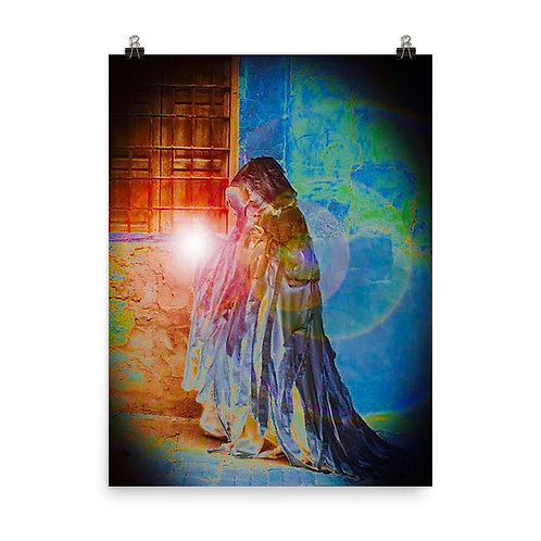 The Rainbow Light Giver Poster