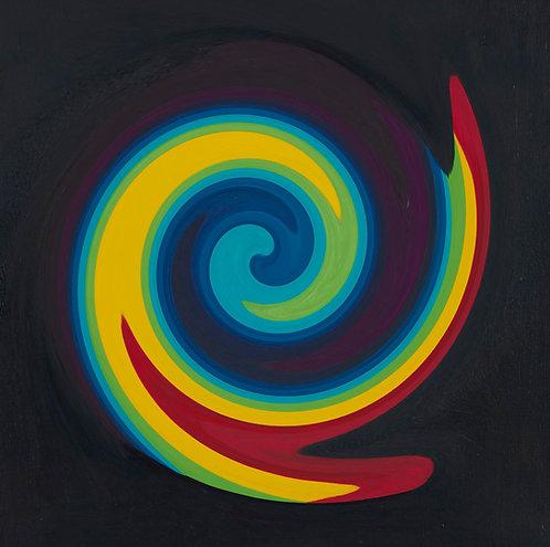 Primary Colour Spiral