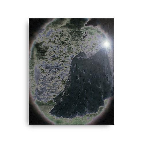 The Black Velvet Magician Canvas
