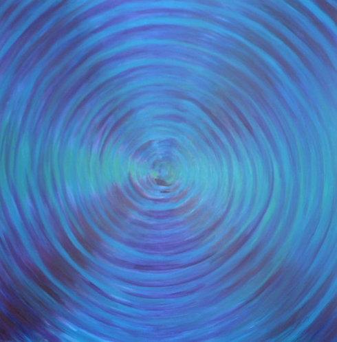 Pure Blue Vortex