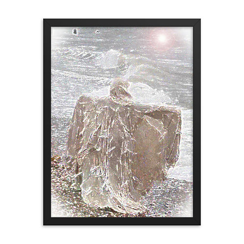 Wraith of The Sea Framed poster