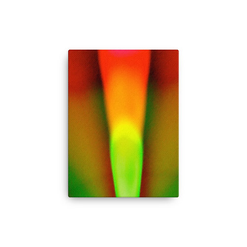 Rose Bulb Light Spectrum Canvas
