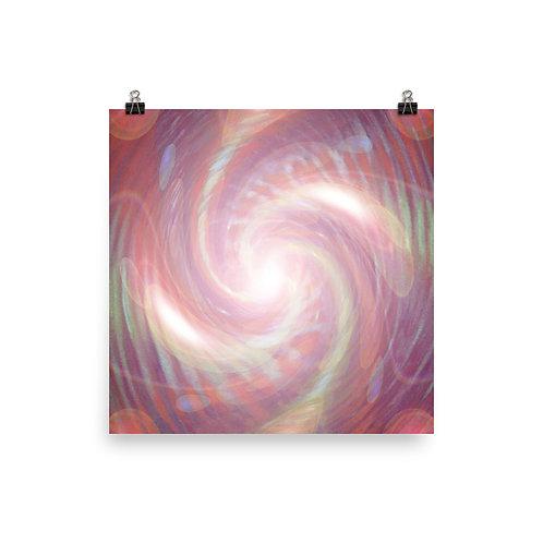 Infinity Vortex Poster