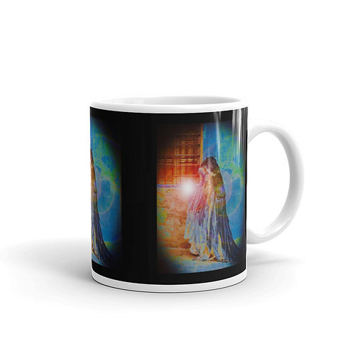 The Rainbow Light Giver glossy mug