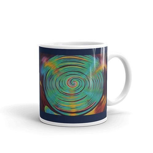 Inter Dimensional Vortex glossy mug