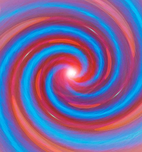 Red & Blue Spiral
