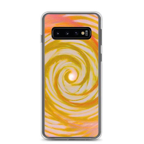 Golden Angel Wings Vortex Samsung Case