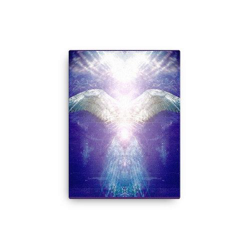 Violet Angel Canvas