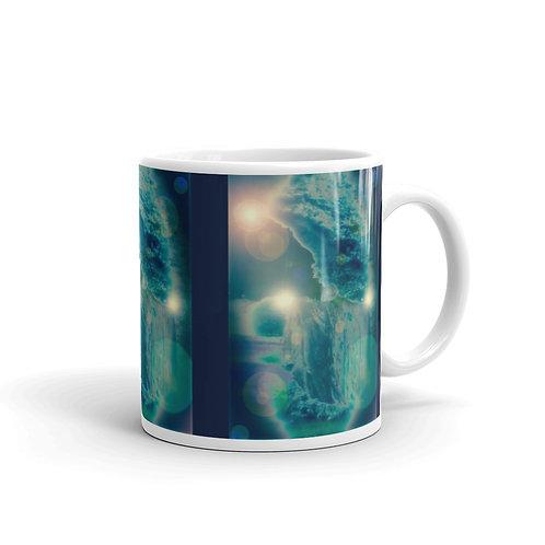 Orb Trance glossy mug