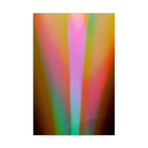 Light Bulb Spectrum Standard Postcard
