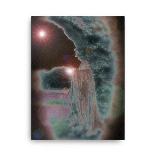The Wraiths Secret Spell Canvas