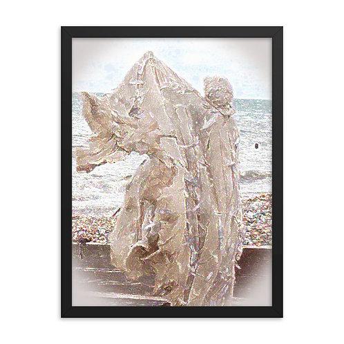 The Crystaline Shroud Framed poster