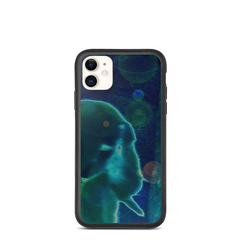 The Silent Viewer Biodegradable phone case
