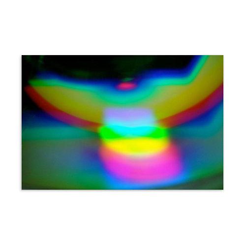 Angel Light Spectrum Standard Postcard