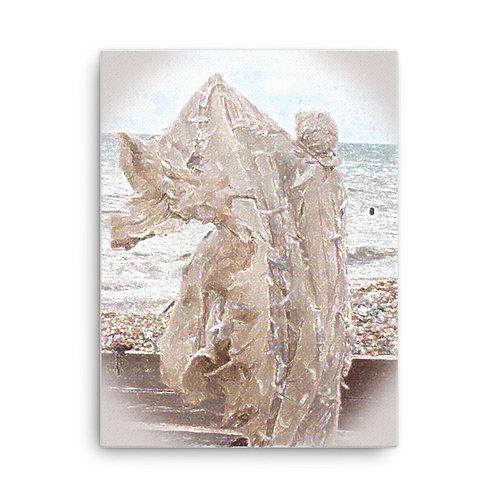 The Crystaline Shroud Canvas