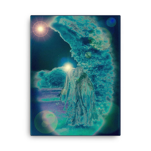 Invoking The Moon Canvas
