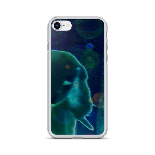 The Silent Viewer iPhone Case