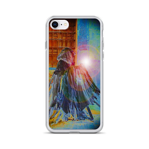 The Rainbow Light Bearer iPhone Case