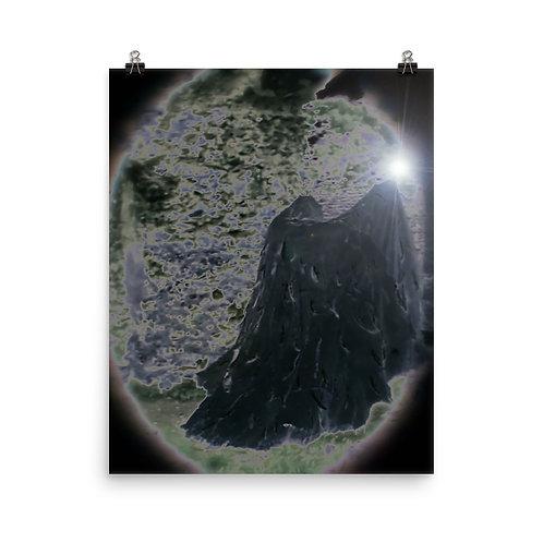 The Black Velvet Magician Poster