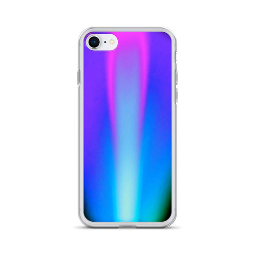 Violet Flame iPhone Case