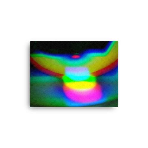 Light Spectrum Angel Canvas