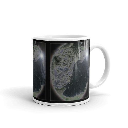 The Dark Velvet Magician glossy mug