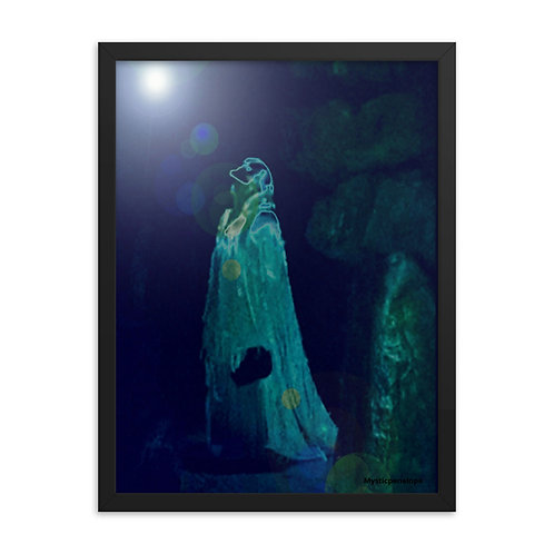 The Mystical Seeking Soul Framed poster