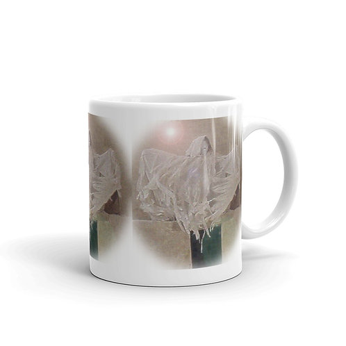The Spectral Angel glossy mug