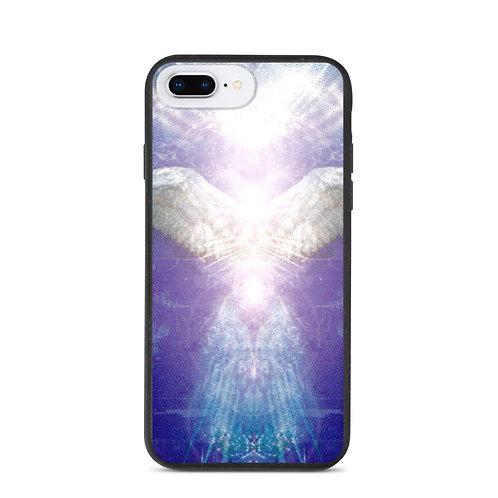 Violet Angel Biodegradable phone case