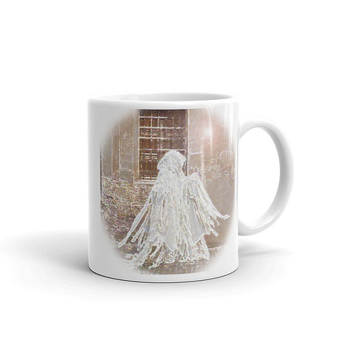 The White Lady glossy mug