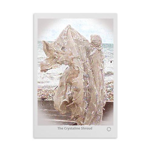The Crystaline Shroud Standard Postcard