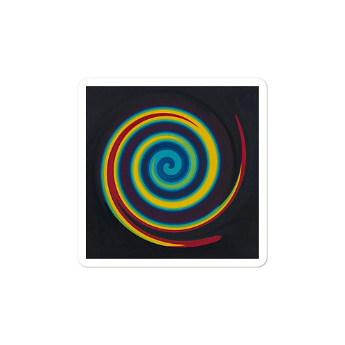 Primary Spiral Bubble-free stickers