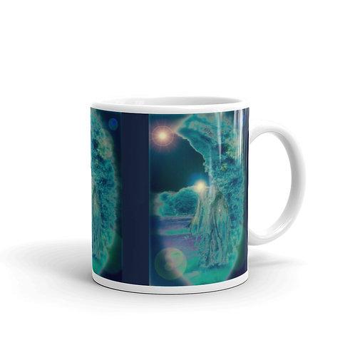 Invoking The Moon glossy mug