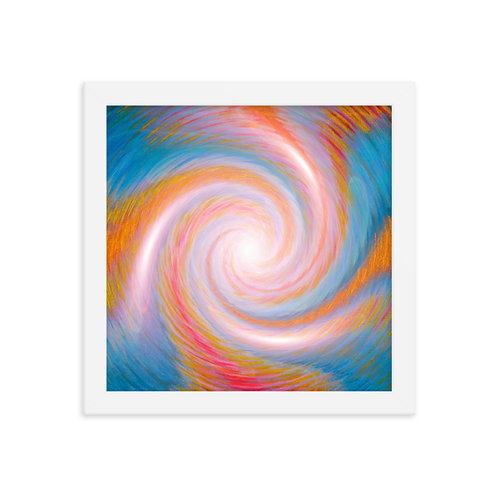 Antaries Infinity Vortex Framed poster
