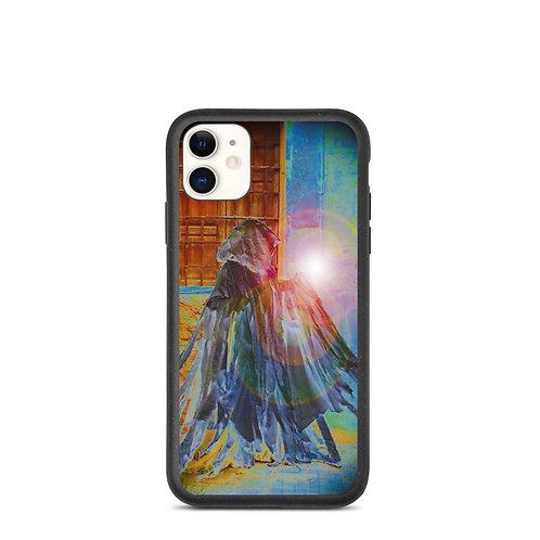 The Rainbow Light Bearer Biodegradable phone case
