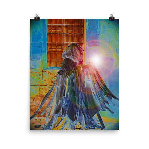 The Rainbow Light Bearer Poster