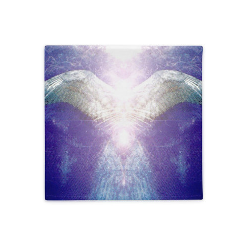 Violet Angel Pillow Case
