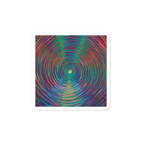 Dimensional Vortex Bubble-free stickers