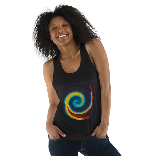 Primary Spiral Classic tank top (unisex)