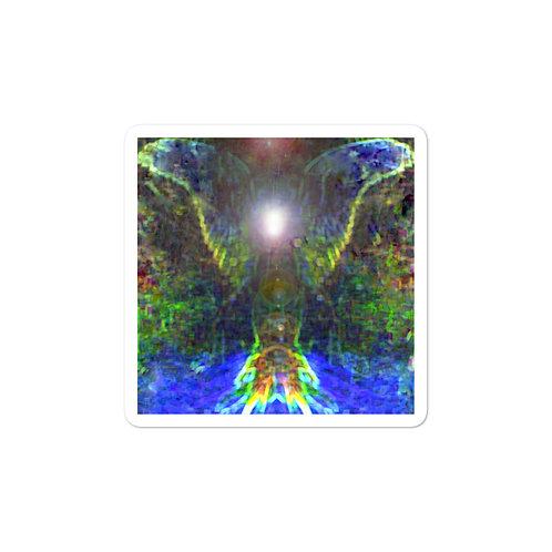Earth Angel Bubble-free stickers