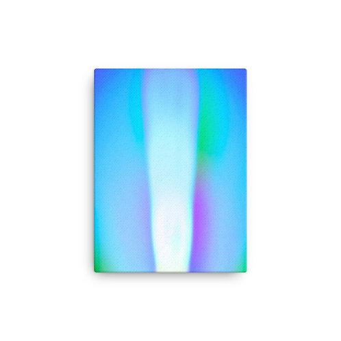 Violet Light Spectrum Canvas