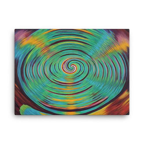 Inter Dimensionel Vortex Canvas