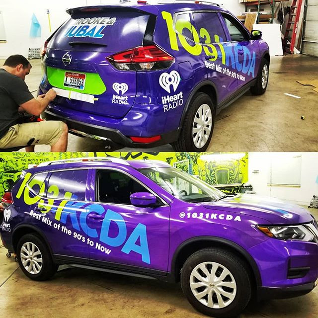 KCDA ADVERTISING WRAP